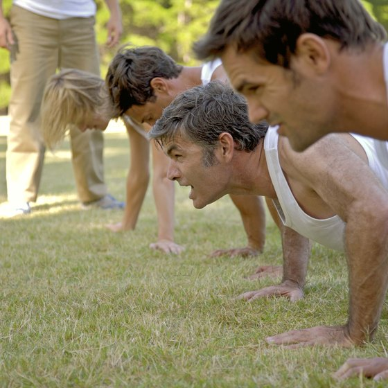 Group personal training can yield quick results.