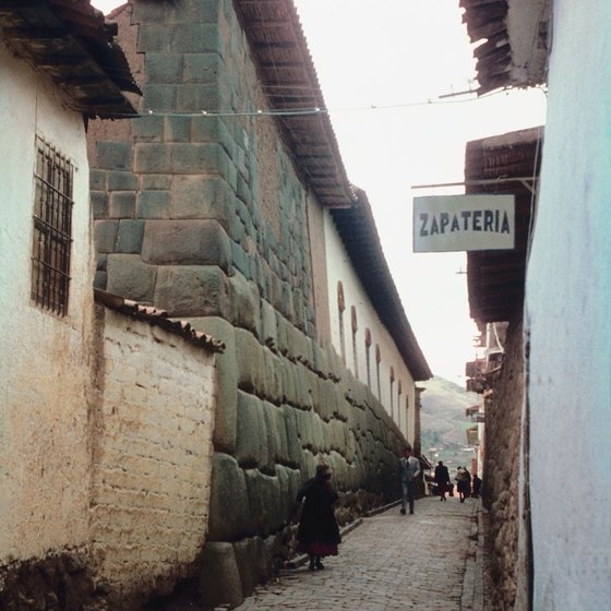 Stable footwear keeps you active on Cusco's cobbled streets.