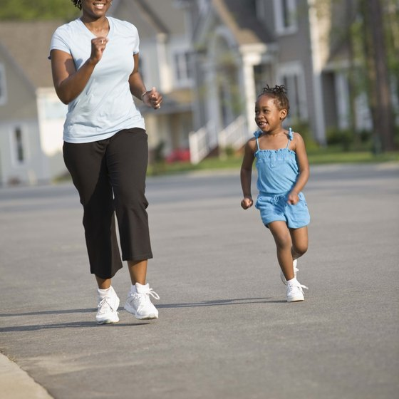 Jogging and playing with your kids can boost energy and help you lose weight.