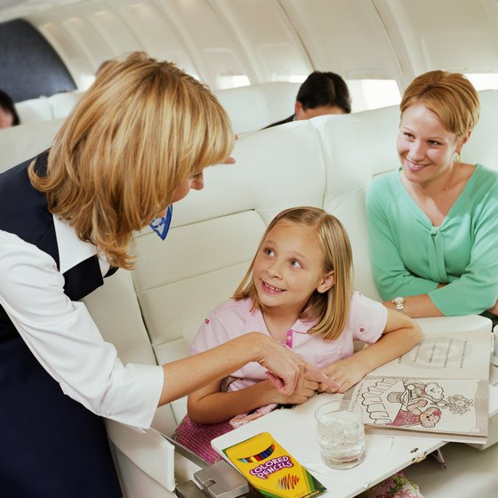 Your child needs a passport to travel internationally by air.
