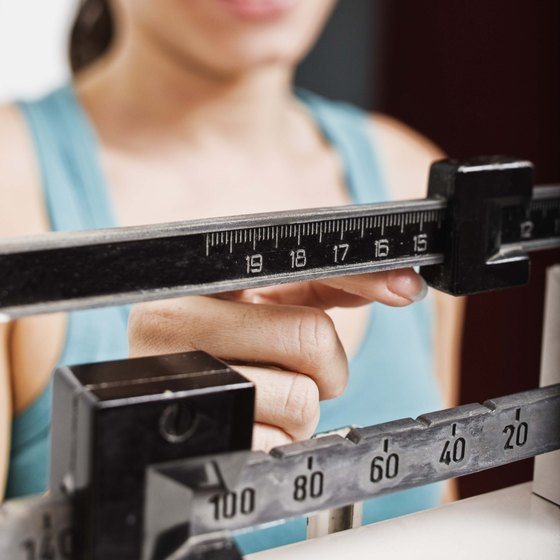 The calories you eat affect the numbers you see on the scale.