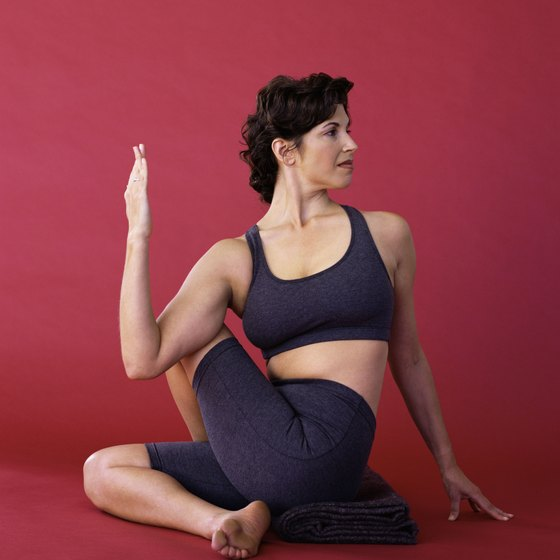The Spinal Twist is a fundamental yoga move.