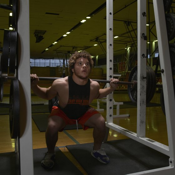 The squat is well-suited to develop muscle size and mass.