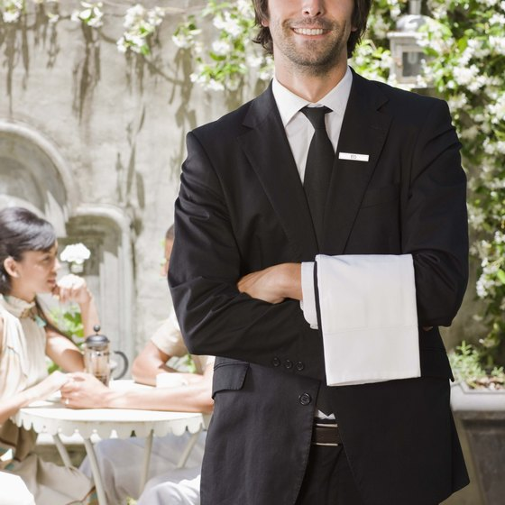 Your dining room staff should excel at selling and service.