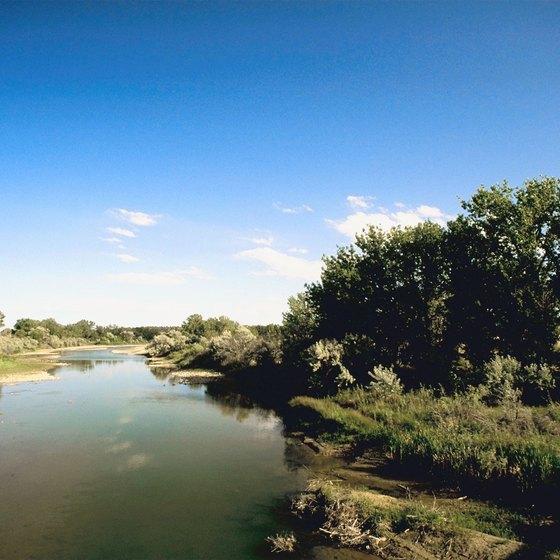 The Platte River runs past Mahoney State Park.