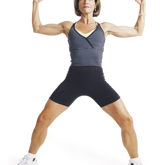 Cowbell routines focus on toning the whole body.