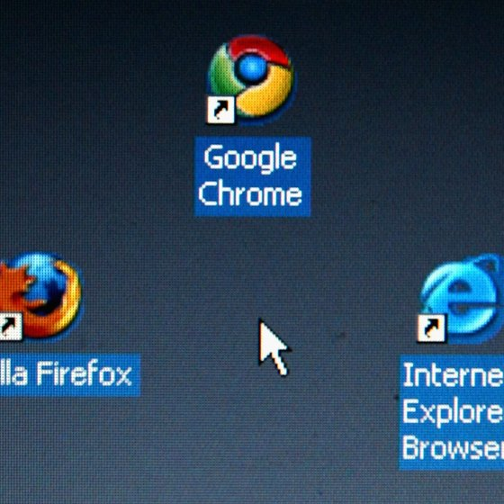 Mozilla Firefox competes for market share with other browser products.