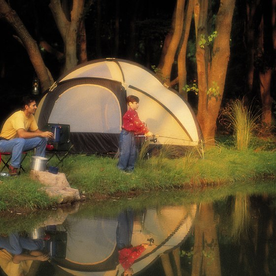 Lakeside camping is just one of many activities to enjoy in Pennsylvania.