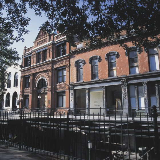 Historic streets of Savannah are a short drive north of Richmond Hill.