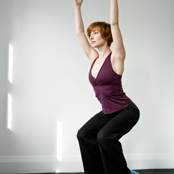 Ankle strengthening can be done with BOSU exercises.