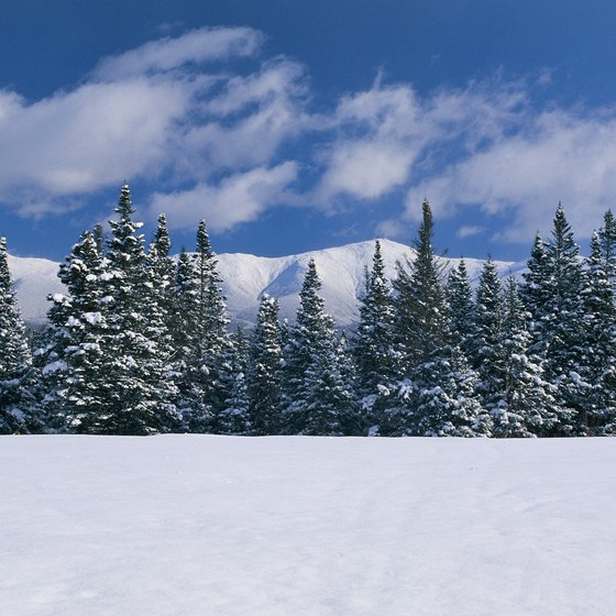 Mount Washington is one of the most recognizable features in New Hampshire.
