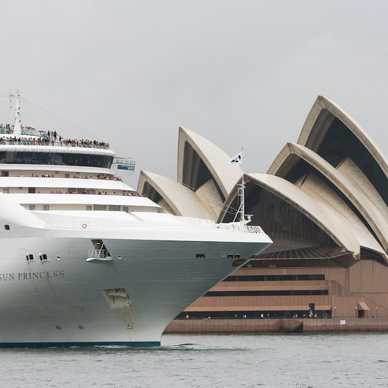 Princess Cruises take passengers to destinations including Australia.