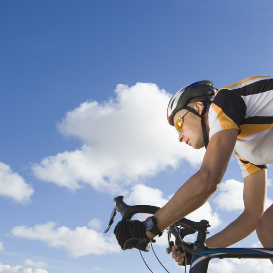 Train regularly to build muscle strength on the bike.