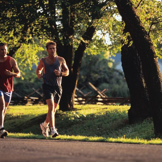Endurance runs are slow enough that you can converse with a friend.
