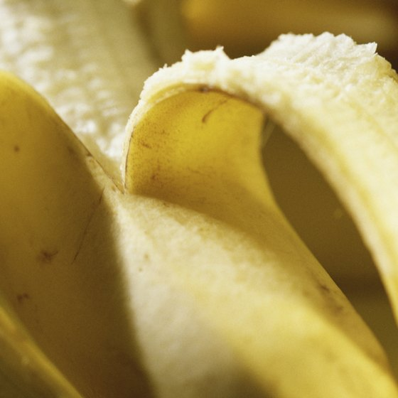 A banana is a nutritious source of fast-acting carbs.