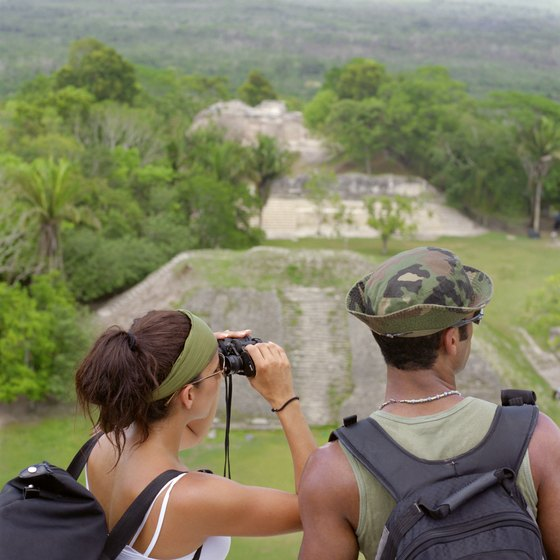 Mayan ruins are just some of the sights around San Ignacio, Belize that will make you glad you packed your binoculars.