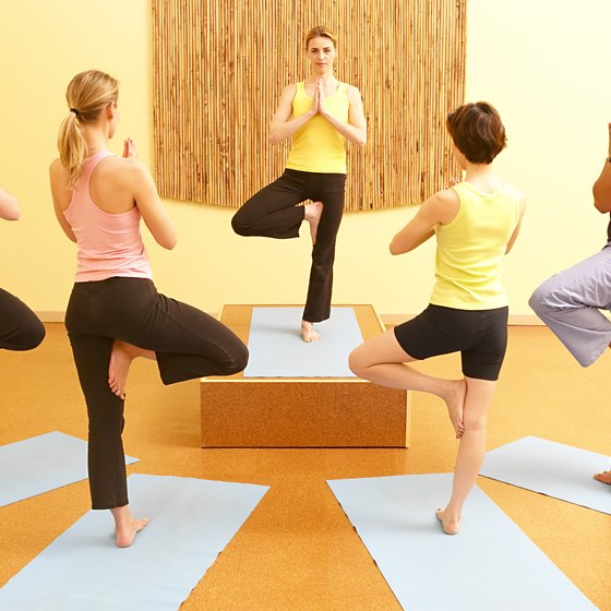 Yoga hones balance and stamina.