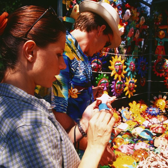 Flea markets offer vendors high buyer volume at a low cost.