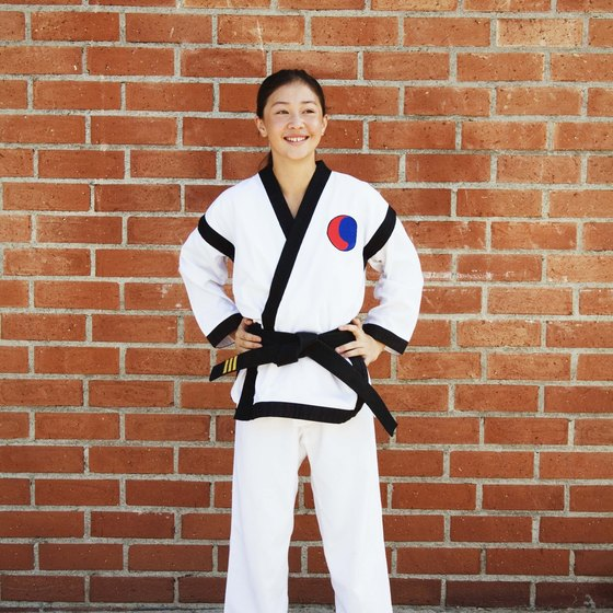 A black belt is the final belt color you receive in tae kwon do.