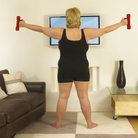 Working out at home allows you to exercise when time allows.