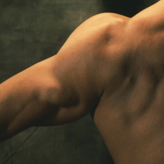 Bent-over laterals can help define your shoulders.