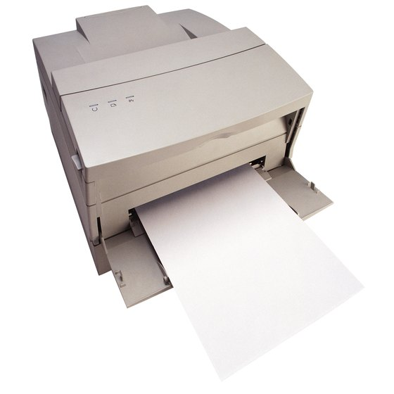 Inside your laser printer is a statically charged printer drum.