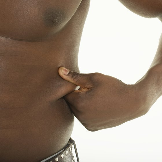 Lose the extra inches with flab-busting exercises.