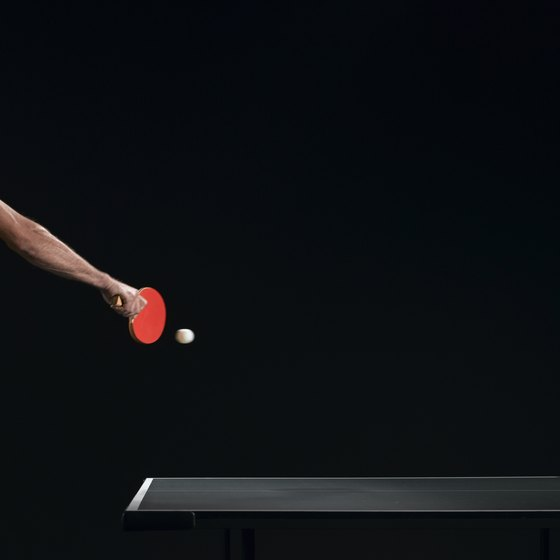 Curved shots are important weapons in your ping pong arsenal.