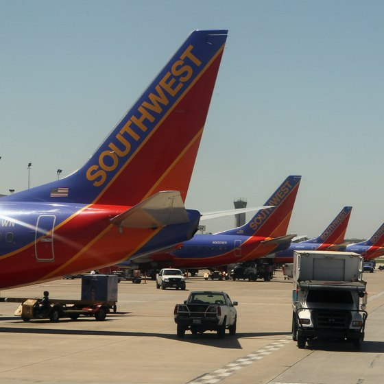 Southwest airlines flights on runway