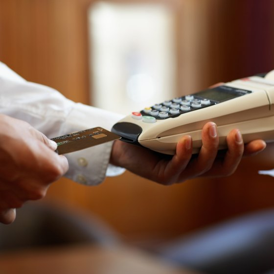 Credit cards can pose disadvantages for small businesses.