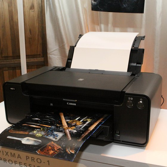 Canon printer cartridges detect when ink is refilled.