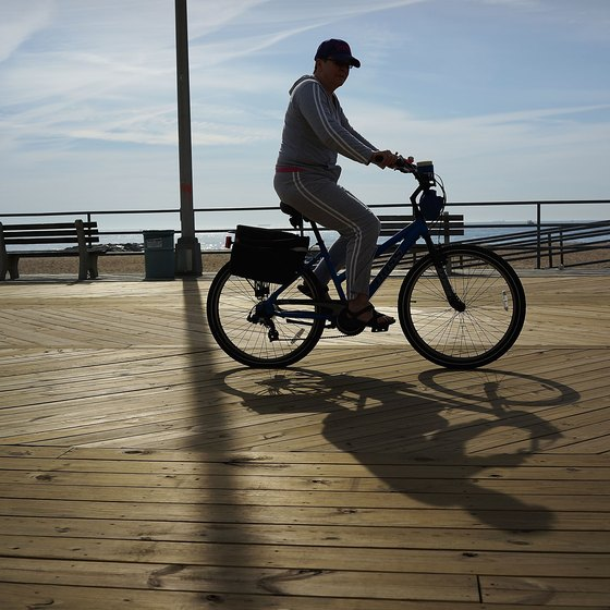 Asbury Park's boardwalk, made famous by Bruce Springsteen: an easy getaway.
