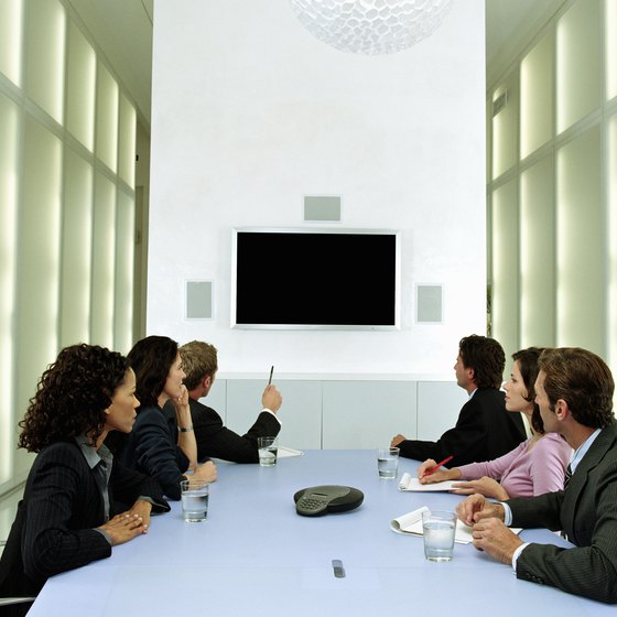 You can use Skype to conduct conference calls in business meetings.