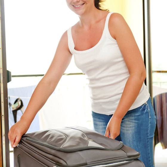 Packing personal items in your carry-on bag is ideal if you're concerned about losing your luggage.