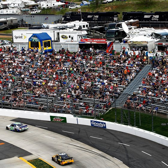 Martinsville Speedway is a popular stop on NASCAR's Sprint Cup circuit.