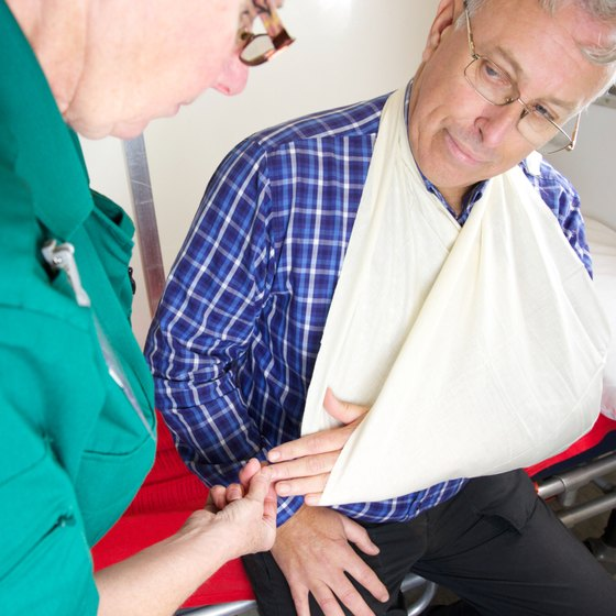 Arm slings are considered an essential component of any first aid kit.