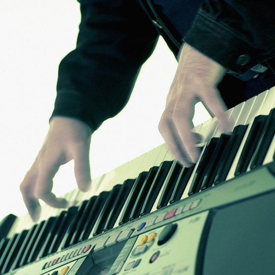 MIDI Keyboards are used by professional recording studios to create audio files for clients.