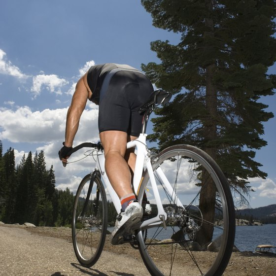 The climb can be part of an interval workout.