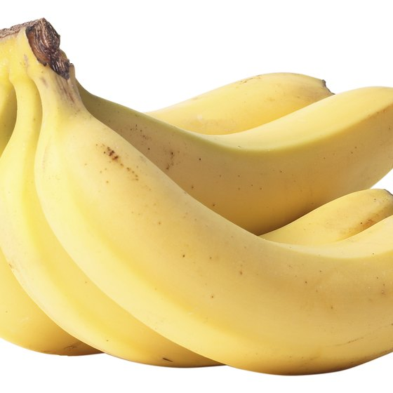 A banana offers carbohydrates in a healthy form.