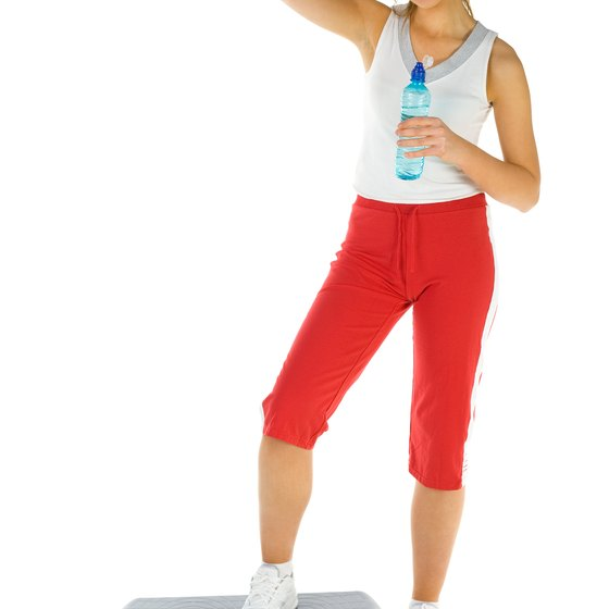 Step aerobics will improve your fitness level and torch calories.