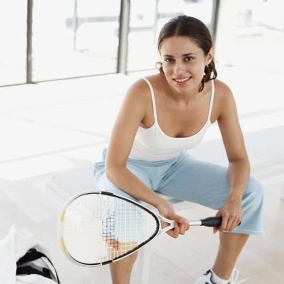 How To Re Grip A Squash Racket Healthy Living