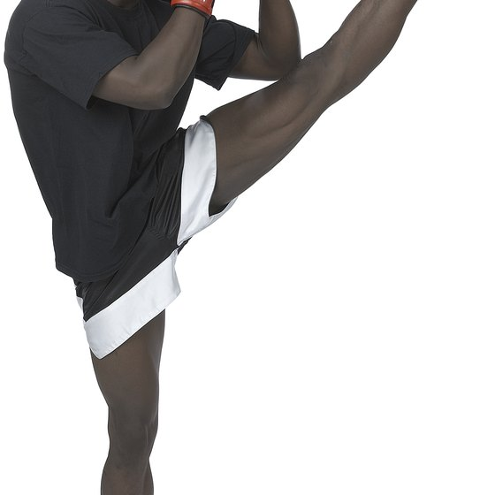 Kickboxing can help toughen up your body, making it more resistant to injury.