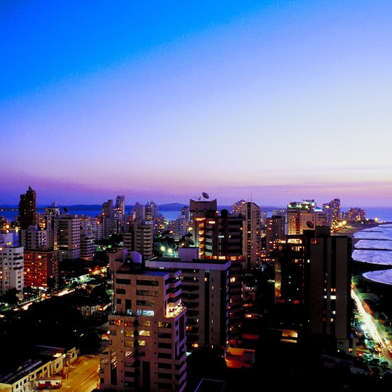 Cartagena is a popular Colombian city that receives international flights from the US.
