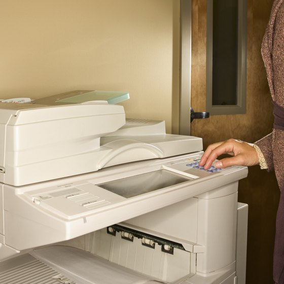 The drum in your Canon copier should be cleaned with care.