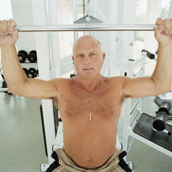 Weightlifting helps keep you strong and active in your 60s.