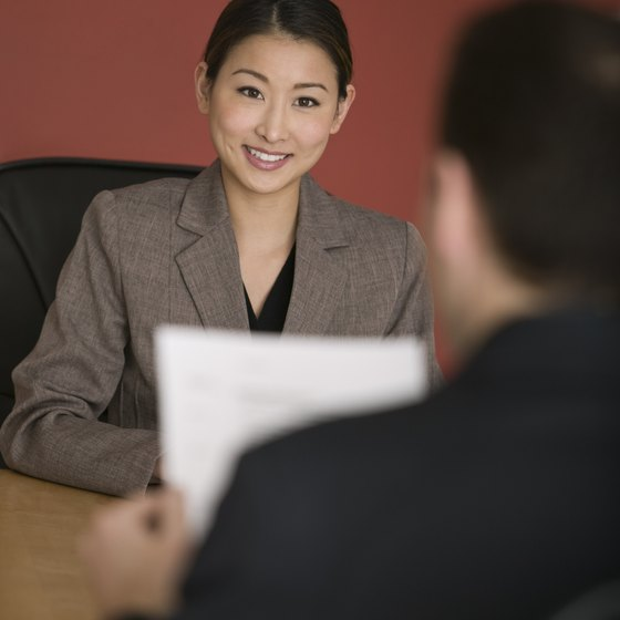 Interviewing possible new employees is a major function of an HR department.