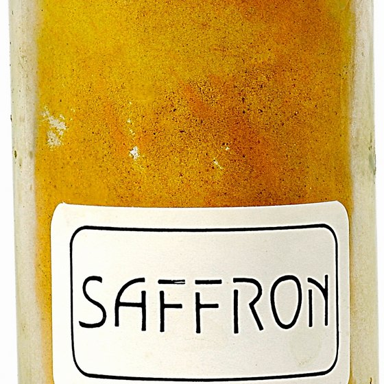 Saffron takes lots of time but little monetary investment to grow.