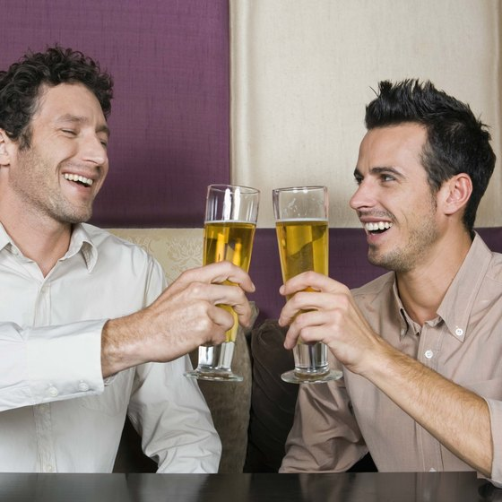 Drinking beer in excess can have serious effects on your health.