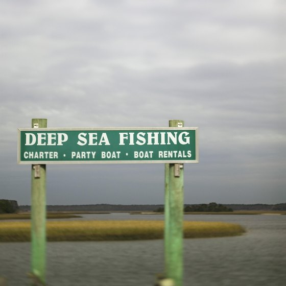 The Dauphin Island Marina rents boat slips to charter boat captains year-round.