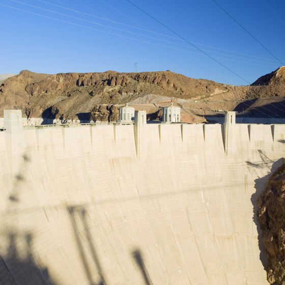 You can take a tour of the Hoover Dam when traveling through Nevada.